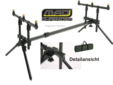 DAM MAD® D-FENDER ROD POD