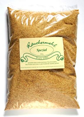 Räuchermehl aus Buchenholz im Beutel zu 500 g